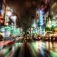 Ripping Through the City Streets of Tokyo