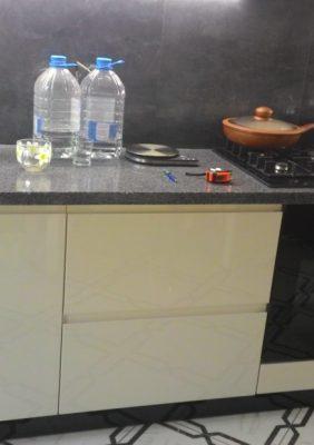 Кухни с крашеными МДФ фасадами