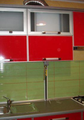 Кухни с пласиковыми фасадами