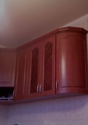 Кухни с плёночными МДФ фасадами