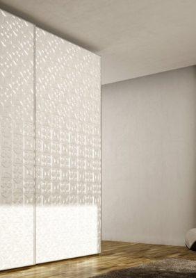 Шкаф с 3D рисунком (фрезеровкой)