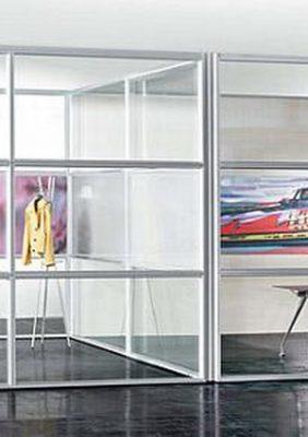 Офисные перегородки со стеклом