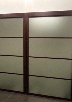 Подвесные раздвижные межкомнатные двери