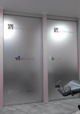 Раздвижные межкомнатные двери с матовым стеклом