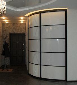 Все раздвижные радиусные двери