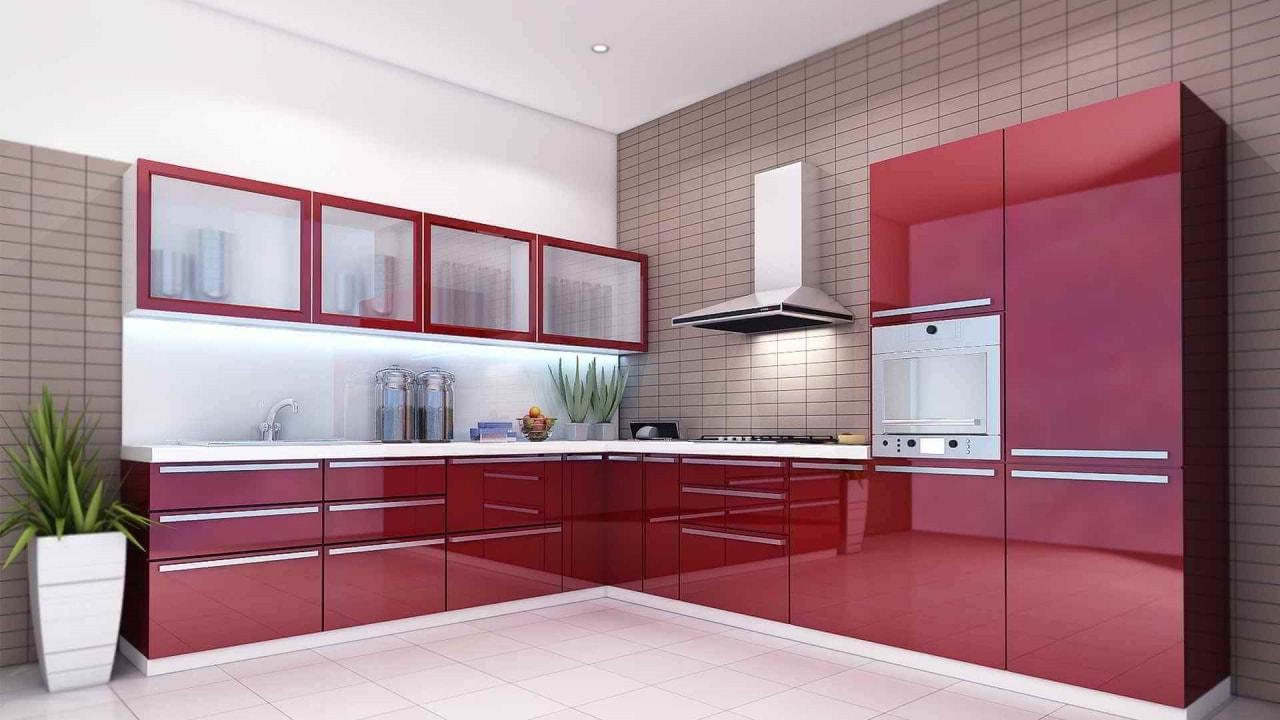 Кухня с плёночными фасадами