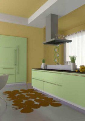 Современная кухня (с пленочными фасадами)