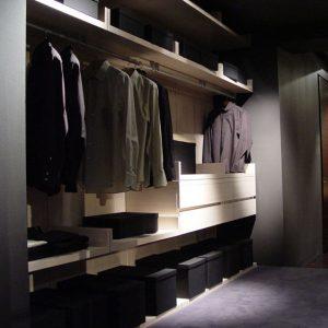 Панельная гардеробная система